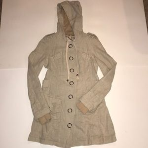 Free People Snap Button Jacket